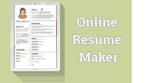 5 Best Resume Maker Websites For Preparing A Cv Youtube