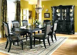 black wood dining set black and wood dining set black dining room furniture sets fair ideas