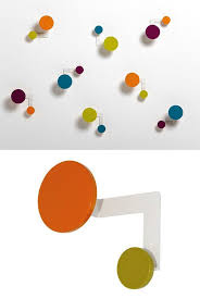Coloured Ball Coat Rack Magnificent Coat Rack Wall Hook PLANET By Hermann Schwerter Design