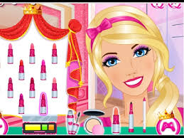 barbie glam queen makeover barbie makeup games for s in english new