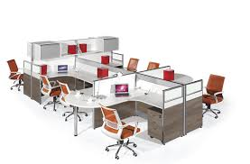 Modern Office Furniture Systems Gorgeous High Quality Modern 48 Seater Workstation HYZN48 Hongye