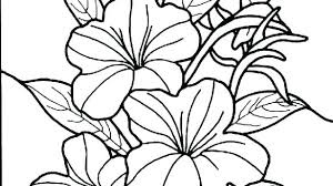 Free Printable Small Flower Coloring Pages Mandala Spring Hibiscus