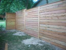 horizontal wood slat fence. Plain Horizontal On Horizontal Wood Slat Fence F