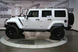 jeep wrangler 2015 white. 2015 jeep wrangler unlimited sahara earth custom w nav white