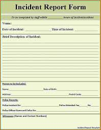 25 Images Of Student Incident Report Form Template Leseriail Com