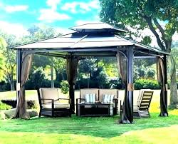 gazebo canopy garden treasures gazebo replacement canopy metal from with insect patio agreeable gazebo