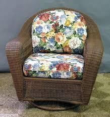 outdoor wicker swivel rocker chair collection furniture glider db