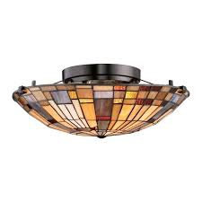 stained glass semi flush ceiling lighting 78 best light fixtures images on lamps light fittings