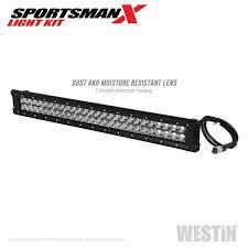 Mid West Wholesale Lighting Corp 40 23005 Westin Sportsman X Grille Guard Led Light Bar Kit