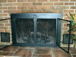 fireplace screen insert fireplace screen replacement how to replace fireplace doors glass door fireplace screens replace