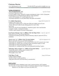 Resume. References available upon request