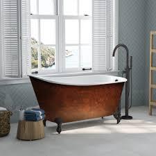 81z9qtczh9l sl1500 copper clawfoot bathtubs tub for faucet dreaded ideas