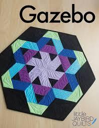 A New Jaybird Quilts Pattern: Meet Gazebo Table Topper! | Jaybird ... & Quilt Details Adamdwight.com