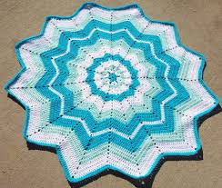 Easy Ripple Afghan Patterns Unique Decoration