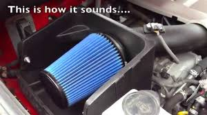 SOUND OF VOLANT COLD AIR INTAKE TO MY TOYOTA TUNDRA - YouTube