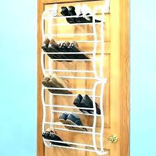 metal over the door shoe rack over door shoe rack pocket over the door shoe 4 metal over the door shoe rack