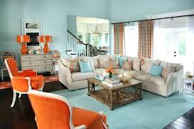 light blue and orange room orange room decor baby nursery amusing blue and orange living room