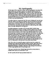 1 Autobiographical Essay Custom Essay Writing Service That
