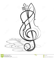 Violin And Treble Clef Download From