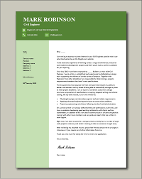 civil engineer cover letter covering