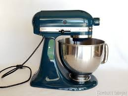 check out this tutorial for painting your kitchen aid mixer