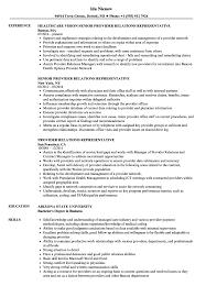 Provider Relations Representative Resume Samples Velvet Jobs