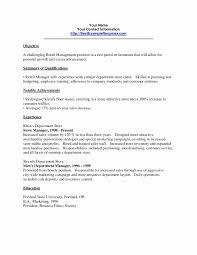 Visual Merchandiser Resume Beautiful Resume For Merchandiser New