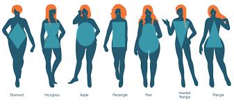 Female Body Types Chart Entry 55 By Crimsonpumpkin For Illustration Design For