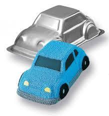 Wilton 3d Car Cake Tin Cupcake Decorations