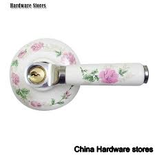 locks and pulls. fresh flower handle lock home door house wholesale and retail shipping discount 24 sets locks pulls