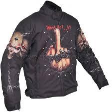 skull motorcycle jackets