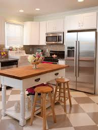 For Small Kitchens Small Kitchen Island Ideas Pictures Tips From Hgtv Hgtv