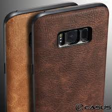 casus leather case for samsung galaxy s8