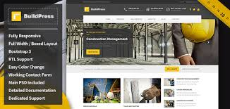 Business Website Templates Amazing BuildPress Construction Business HTML Template By Uiuxaesthetics