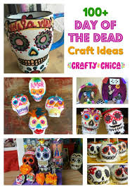 round up of day of the dead craft ideas