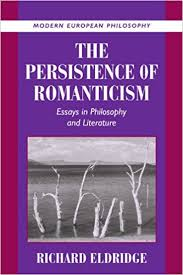com the persistence of r ticism essays in philosophy  the persistence of r ticism essays in philosophy and literature modern european philosophy 1st edition