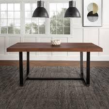 manor park rustic farmhouse solid wood dining table mahogany com