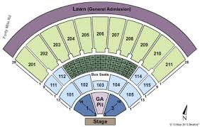 Toyota Amphitheater Detailed Seating Chart 14 Paradigmatic Toyota Amphitheatre Wheatland Seating Chart