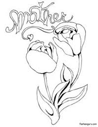 printable flowers red roses for sweet mothers day coloring page printable coloring pages for kids