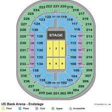 Us Bank Seating Chart Concert Best Picture Of Chart