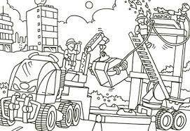 Small Picture Lego Duplo Construction Job Area Coloring Pages Batch Coloring