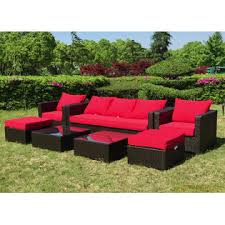 Grand Resort Osborn 7 Piece Sofa Seating Set Featuring Sunbrella