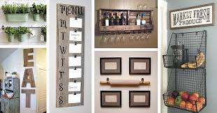 Kitchen wall decorating ideas Priligyhowto 36 Pretty Kitchen Wall Decor Ideas To Stir Up Your Blank Walls Homebnc 36 Best Kitchen Wall Decor Ideas And Designs For 2019