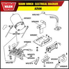 go big parts and accessories llc atv products winches warn winch electrical diagram a2500