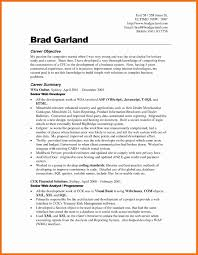 Resume And Objective Career Change Resume Objective Statement Examples Fresh Resume 4