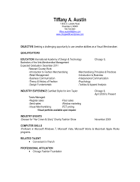 Sample Resume: Merchandising Manager Resume Of Retail Visual.
