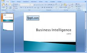 Powerpoint Custom Templates Creating A Business Intelligence Powerpoint Template