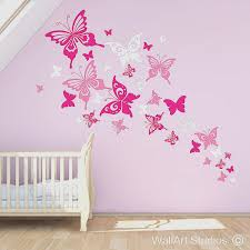 flower wall decals nursery new animal wall art feltidermy gifts 20