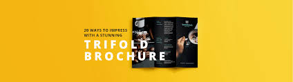 3 column brochure design trifold brochures that get your business noticed free
