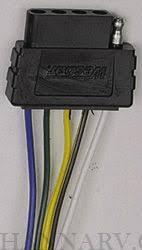wesbar 002309 heavy duty 5 way flat 6 foot vehicle end connector wesbar 4 pin 7 wire wesbar 002309 heavy duty 5 way flat 6 foot vehicle end connector